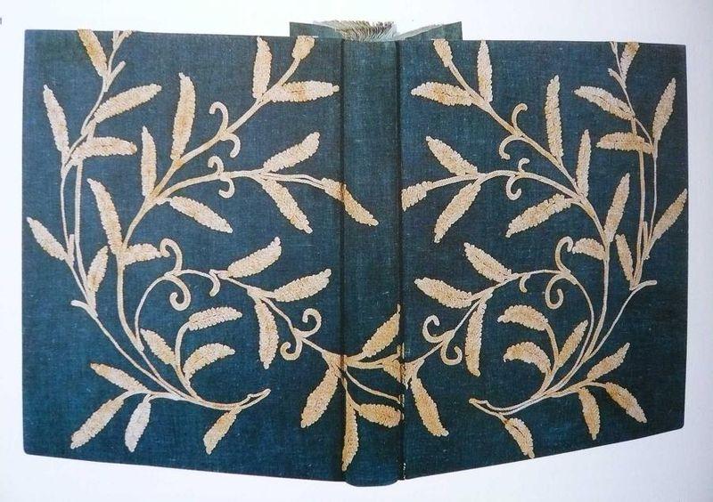 La robe bleue_Reliure du manuscrit autographe de SIDO