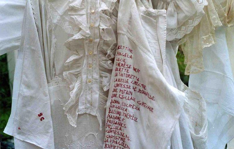 CASANOVA Liste des conquêtes - détail (Manteau de mémoire_mfd) il