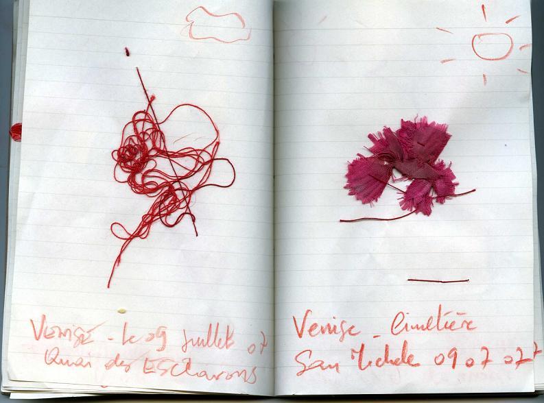 Venise la ROUGE... Journal 02_mfd 2007