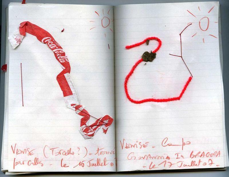Venise la ROUGE... Journal 07_ mfd 2007