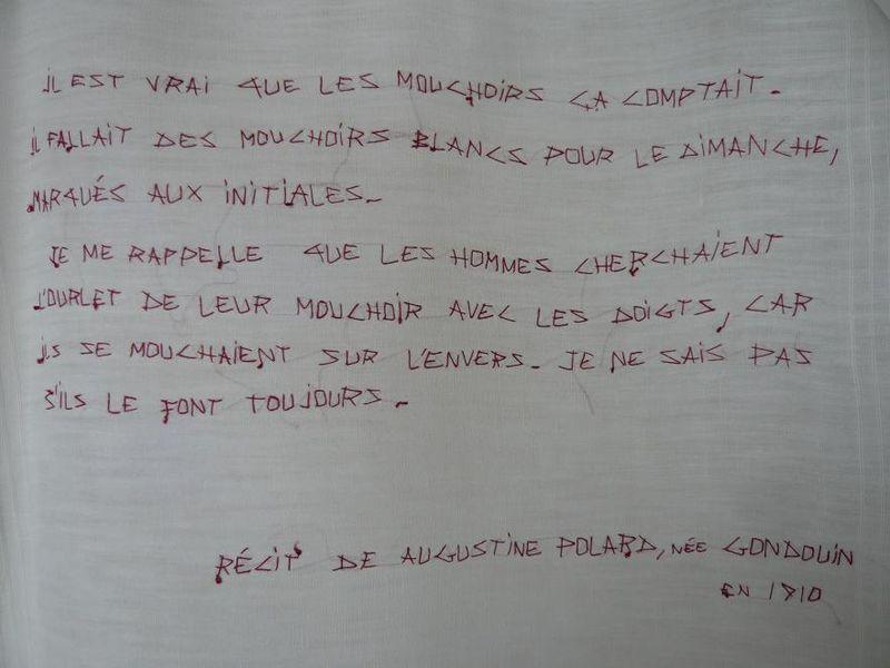 Mouchoir mode d'emploi_ Augustine_mfd 2001