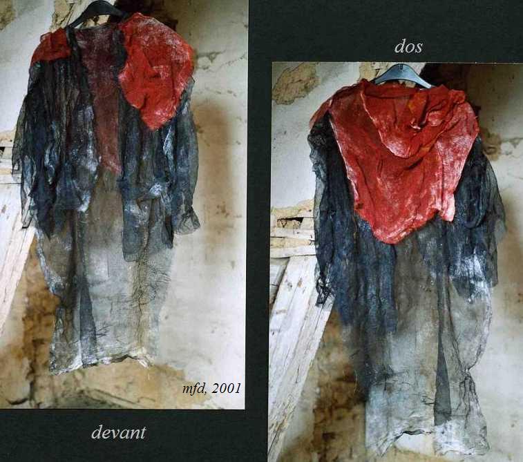 'Manteau de mémoire' pour le graveur M-A ORELLANA_ mfd 2001