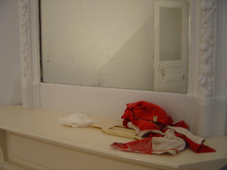 Chiffons de peintre en bâtiment_ Paris, 2006