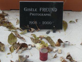 Gisèle FREUND Cimetière Montparnasse
