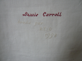 TALE of a TAIL signature L CARROLL_mfd, 1998