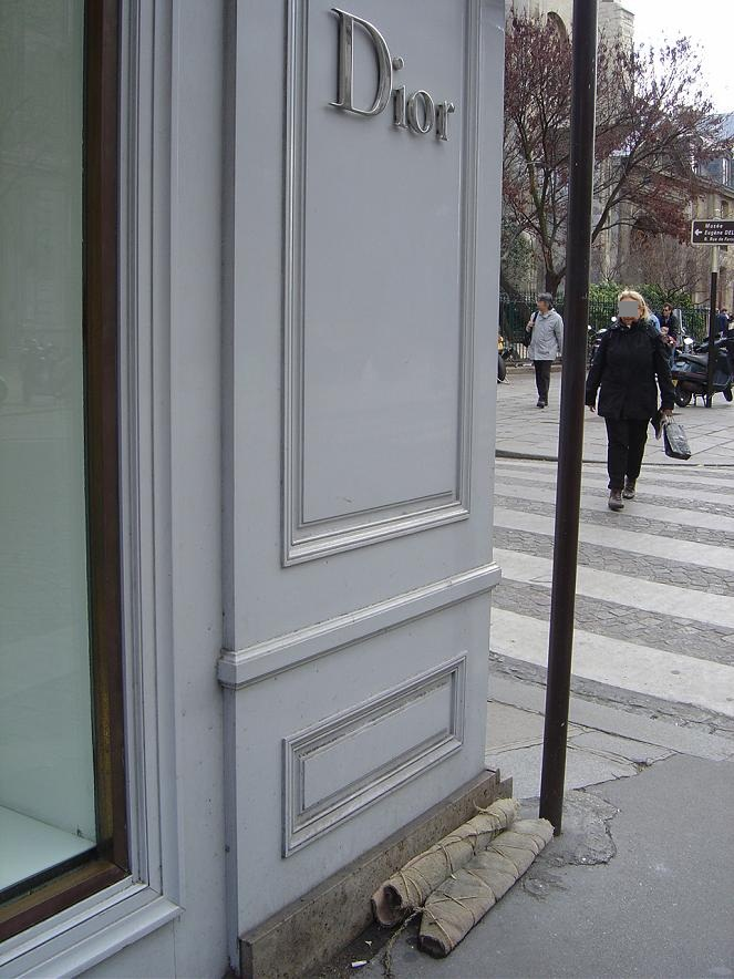 Colection de printemps_DIOR Paris, rue Bonaparte