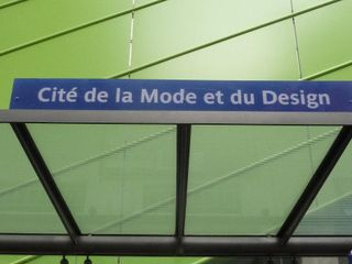 PARIS, Cité de la Mode et du Design_ GD, 2009