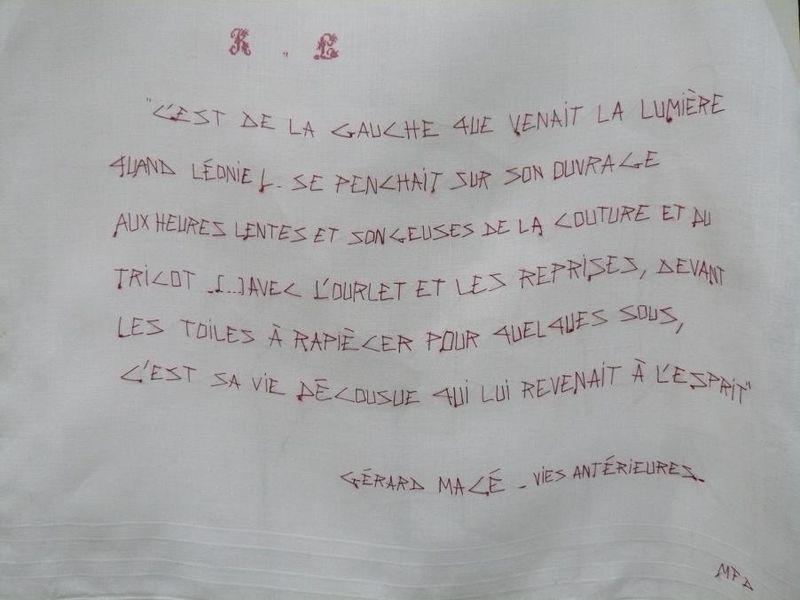 Léonie L (Chanson de toile- Vies antérieures)_ Gérard Macé _mfd