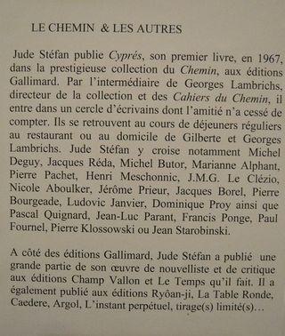 0 Jude Stéfan et LE CHEMIN
