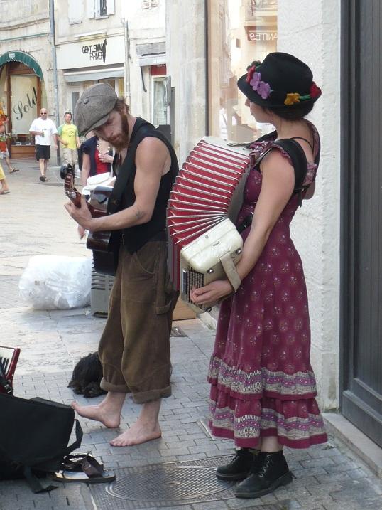 Musiciens de rue LA ROCHELLE 2 2010