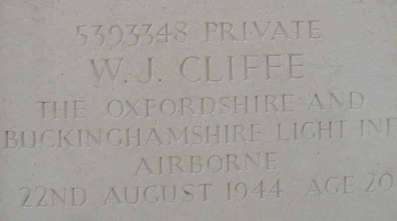 W.J. Cliffe 3 (22 08 1944)