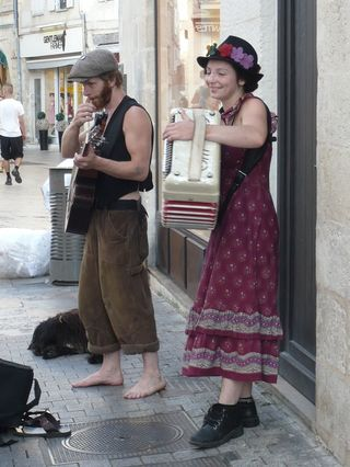 Musiciens de rue La Rochelle 3 2010