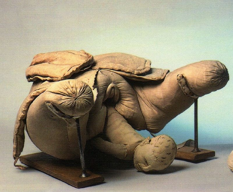Mme du Coudray _mannequin d'accouchement (Musée Gustave Flaubert_ROUEN)