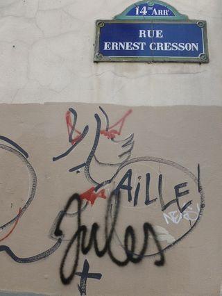 9 ange graffiti JCDC surchargé rue E. CRESSON