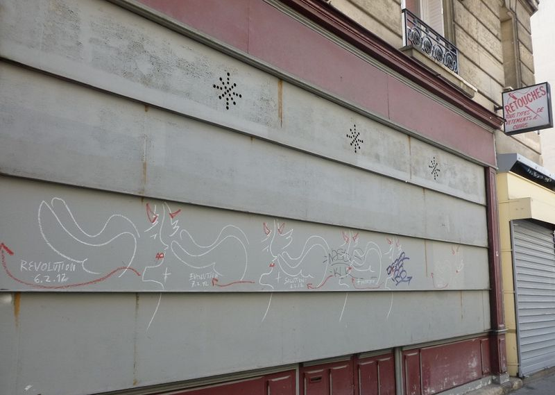 3 Anges graffiti JCDC (retouchés) 33 rue Boulard