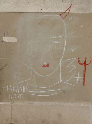 6 ange graffiti JCDC  av. Général Leclerc