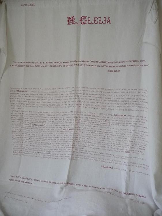 15 clelia 'Chanson de toile' de G. Macé, transcrite au fil rouge par mfd
