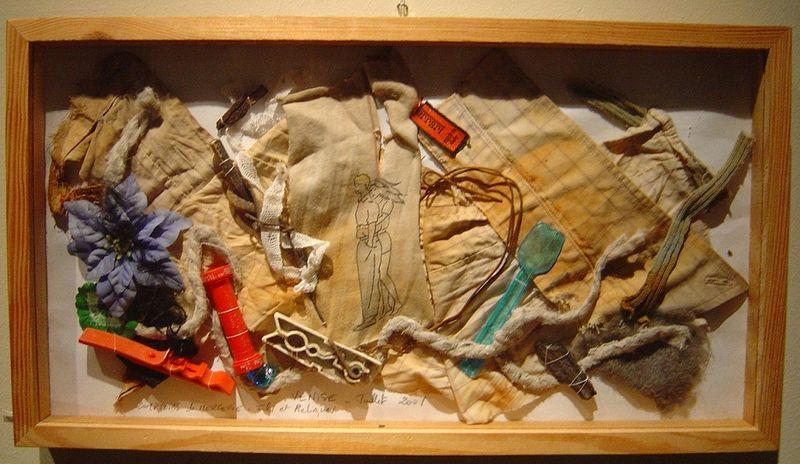 Boîte à reliques VENISE_Glanage mfd, 2001