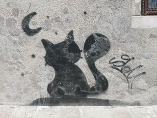 Gatto, Graffiti 03