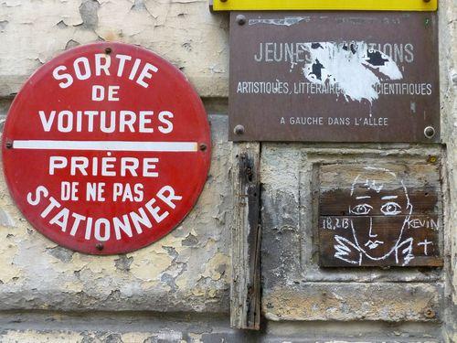 Ange JCDC rue Mouton- Duvernet