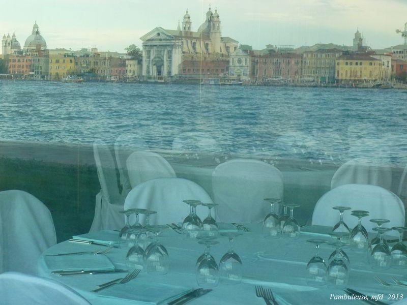 REFLETS  Zattere vu de la Giudecca VENISE, 2013
