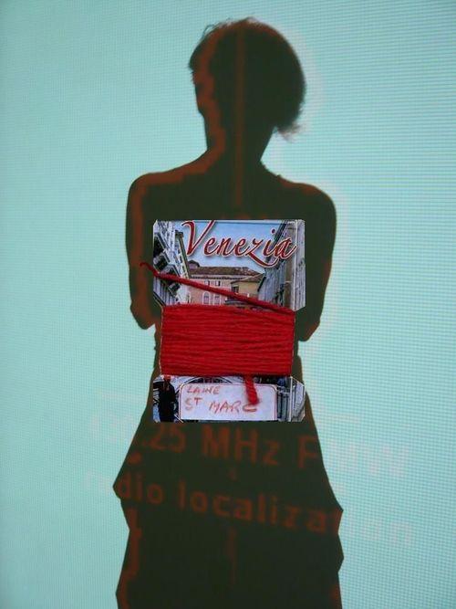 Venise la Rouge (autoportrait au OBI)