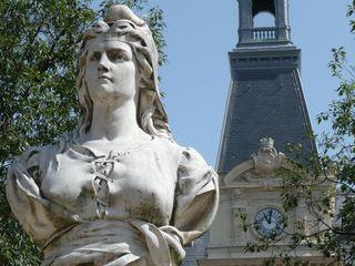 Corset MARIANNE _ PARIS, Mairie du 14ème