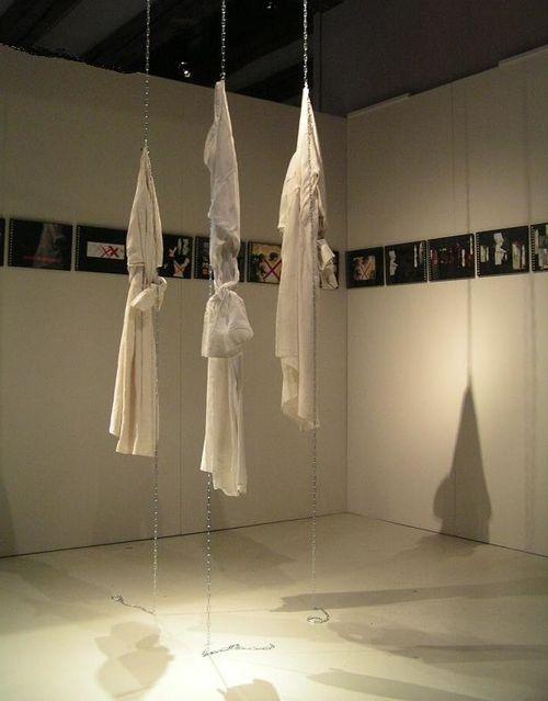 013 EXPO.  Chemise prétexte, installation_mfd 2007