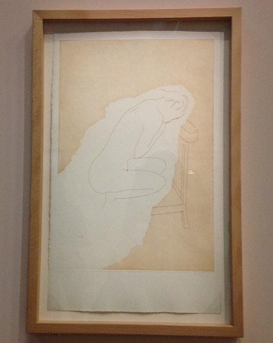 La mariée mise à nu. Lithographie,  Marcel Duchamp