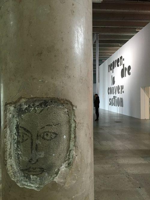 L'ange graffiti et ALBEROLA 24 02 2016