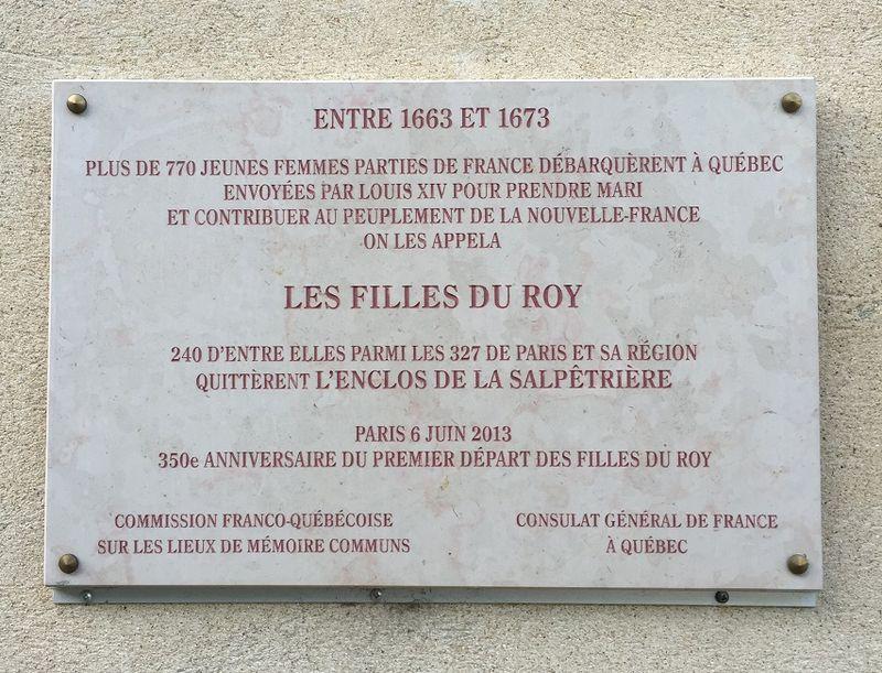 01 FILLES DU ROY Paris. Hôpital de la Pitié-Salpêtrière.  © mf dubromel. 04 2016