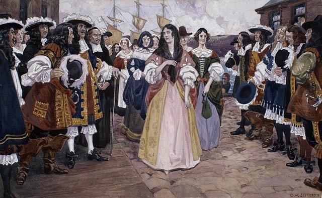 L'arrivée des Filles du Roy e Nouvelle France