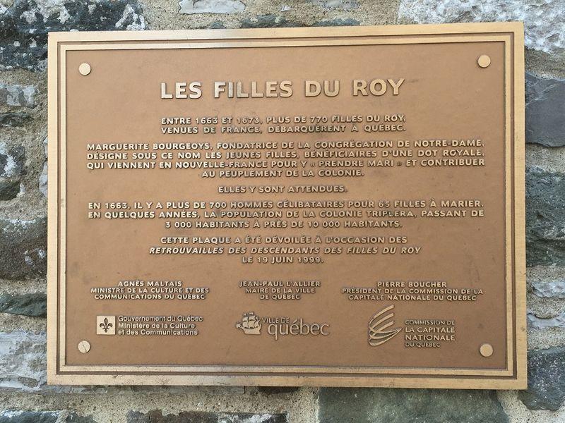 02 FILLES DU ROY. Québec, ruelle de la Place. © mf dubromel, 06 2016