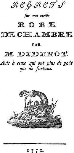 Regrets... DIDEROT