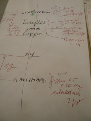16 JS PAGE DE TITRE pour IDYLLES EXPO. Orbec,  2010