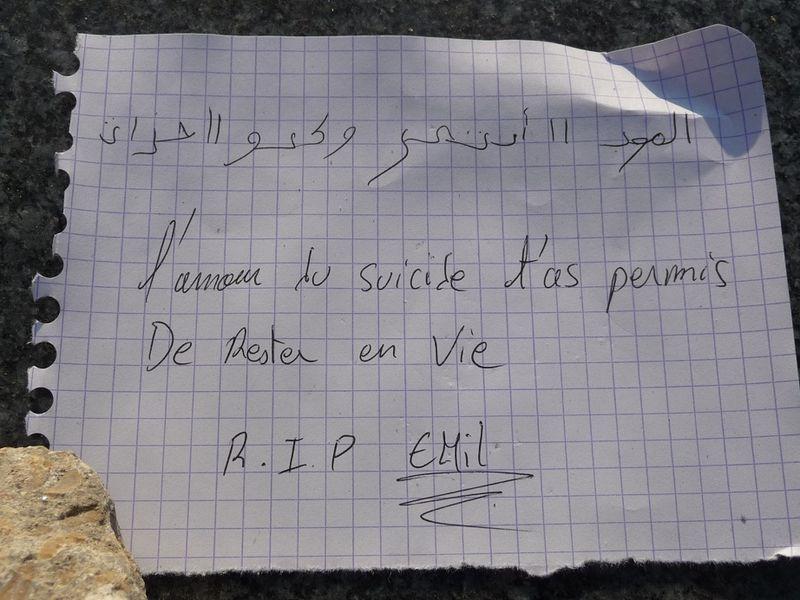 CIORAN Paris cimetière Montparnasse 16 10 2011 2