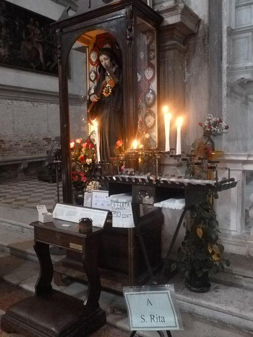 SANTA RITA Venise, San Francesco della Vigna