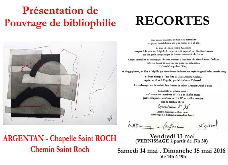 RECORTES Argentan-Chapelle  St Roch MAI 2016