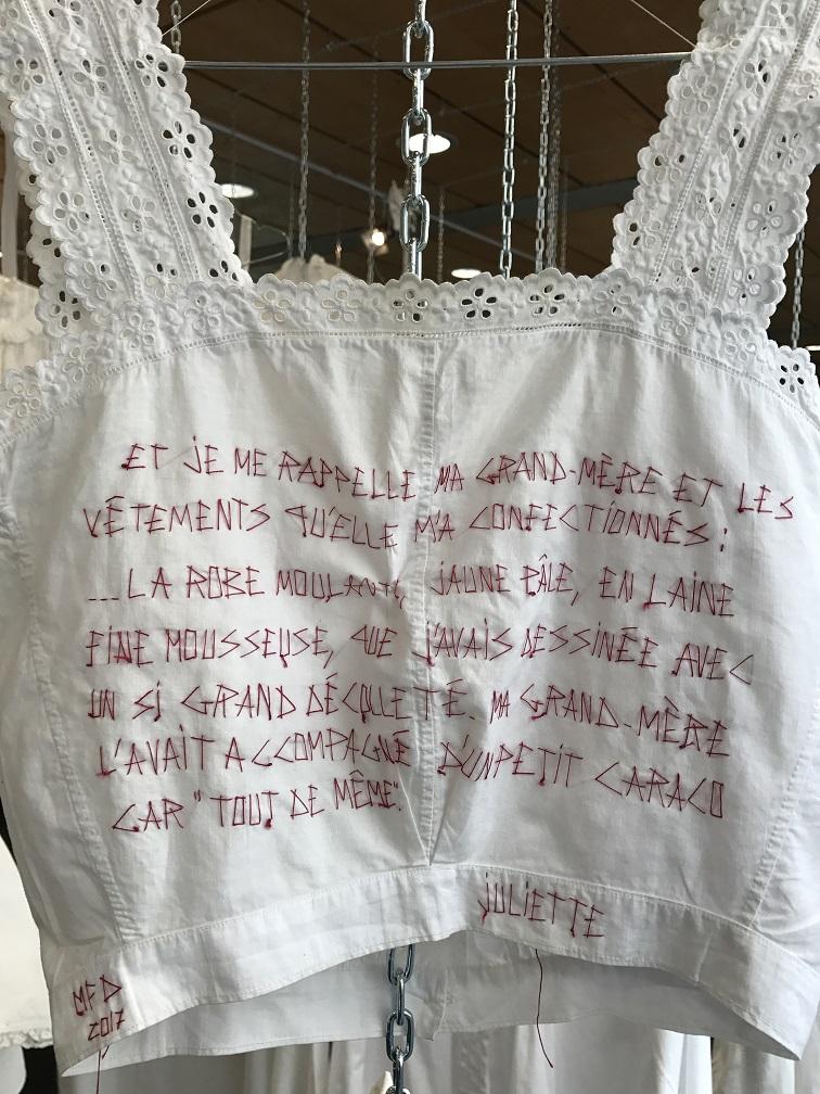Juliette histoire de vécu. mfd 2017