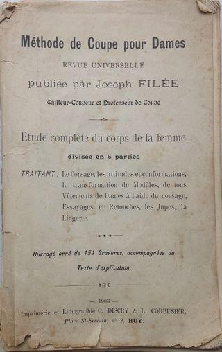 Méthode de coupe pour dames - 1903