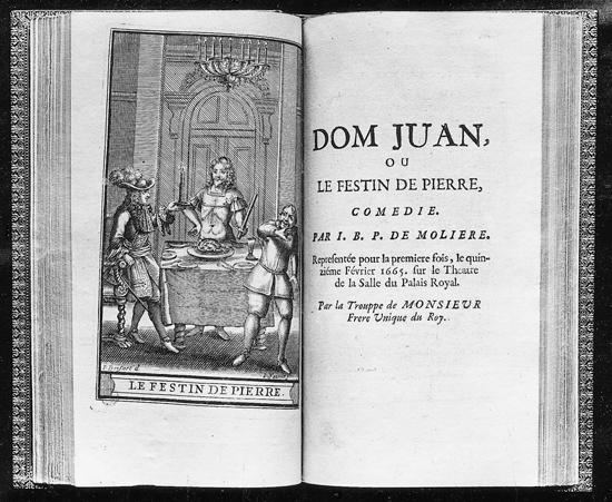 Molière_frontispicede_Dom Juan 1665