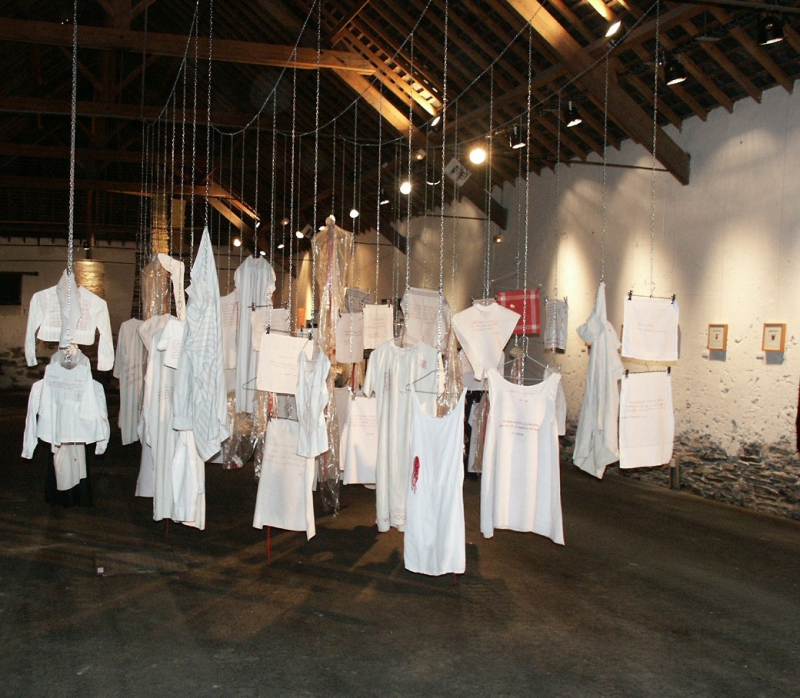 3 2003 Hist de vécu -Installation- Ardoisières de Trélazé (2003)