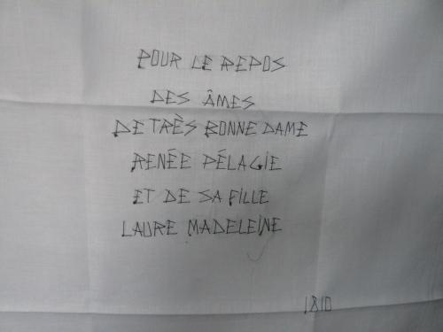 Epitaphe Marq. de Sade