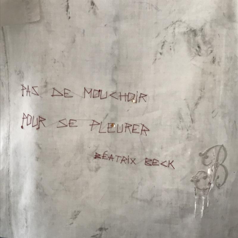Pas de mouchoir pour se pleurer Beatrix Beck