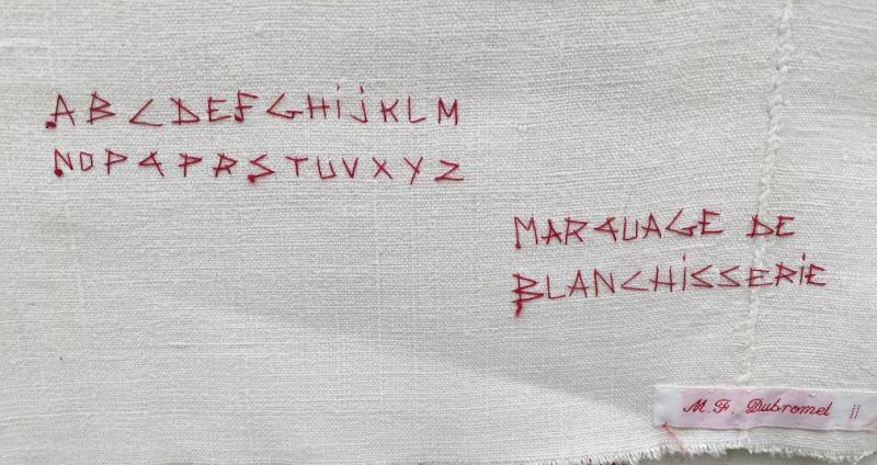 4 Marquage de blanchisserie( reconstitué par mfd) 4