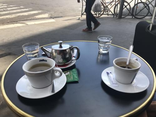 THE OU PARIS PARIS Café DU RENDEZ6vous  le 08 09 18 BD