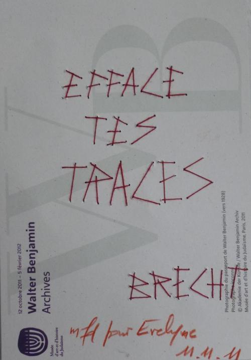 BENJAMIN. Traces_mfd 2011