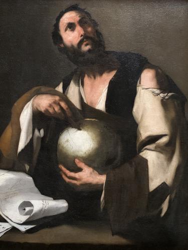 IMG_0546 Philosophe pointant une mappemonde Musée de Chambéry