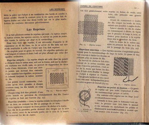 0 Cours de travail manuel-Mme LHOMME_Hatier 1913