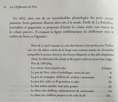 Compagnon (Antoine) Les Chiffonniers de Paris